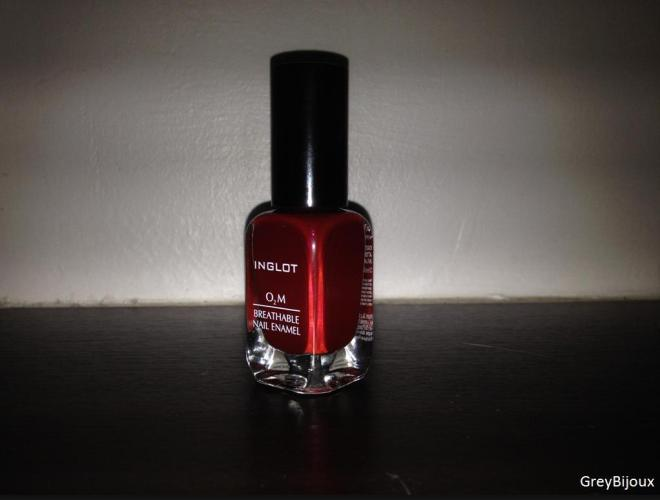 INGLOT (Review): Breathable Nail Enamel - GREYBIJOUX
